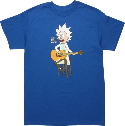 Rick and Morty Let Me Out T-Shirt