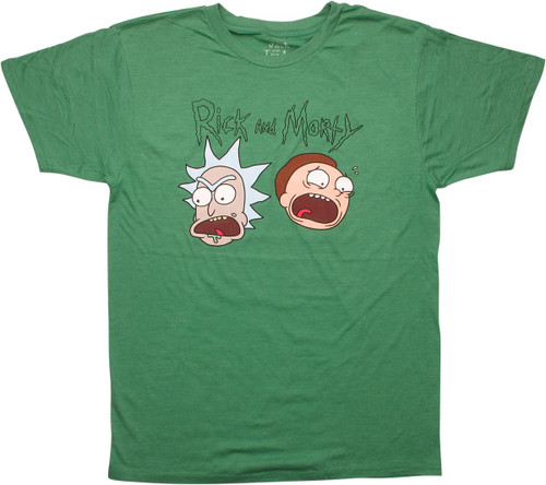 Rick and Morty Screaming Heads T-Shirt