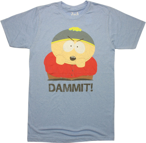 South Park Cartman Dammit T-Shirt Sheer