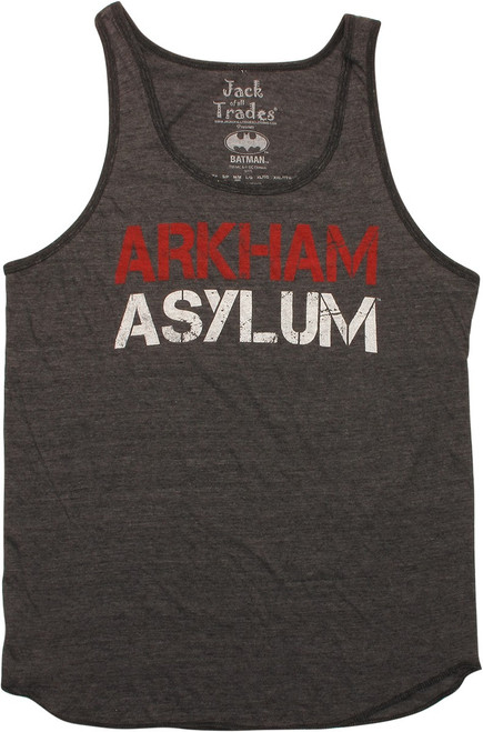 Batman Arkham Asylum Tank Top