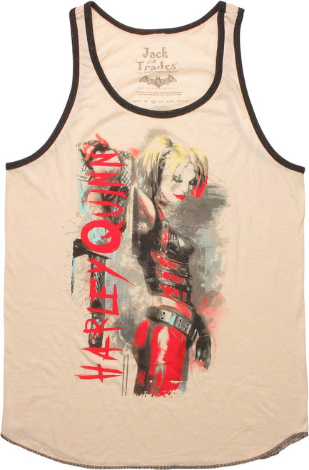 Harley Quinn Watercolor Tank Top