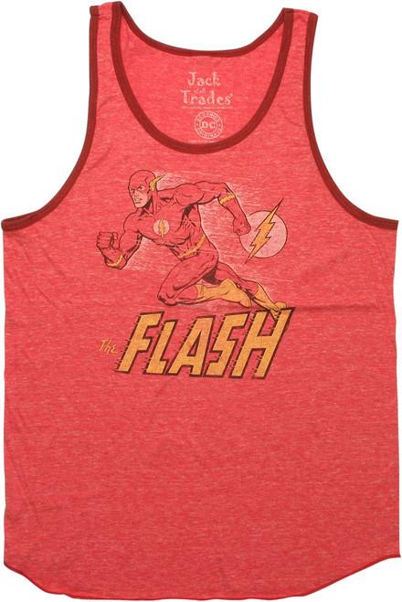 Flash Running Vintage Tank Top