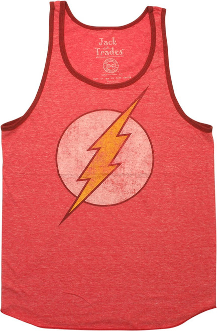 Flash Vintage Logo Ringer Tank Top