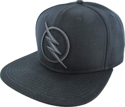 Flash Zoom Reverse Embroidered Logo Snapback Hat