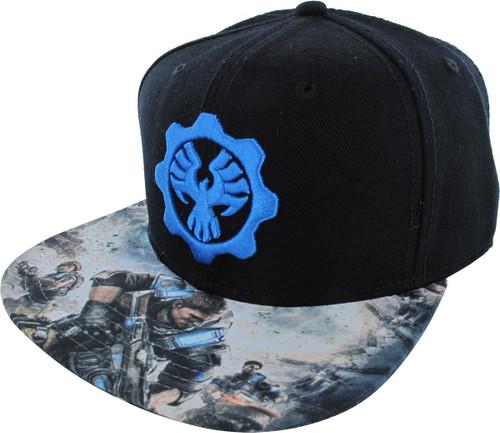 Gears of War 4 Phoenix Omen Snapback Hat