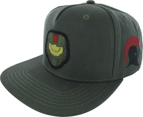 Halo Wars 2 Helmet Patch Snapback Hat
