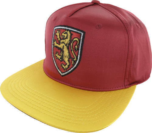 Harry Potter Gryffindor Satin Snapback Hat
