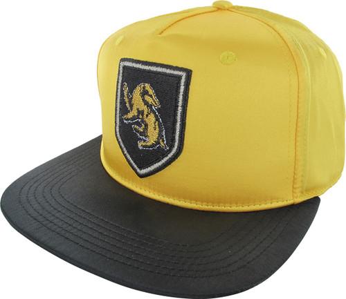 Harry Potter Hufflepuff Satin Snapback Hat