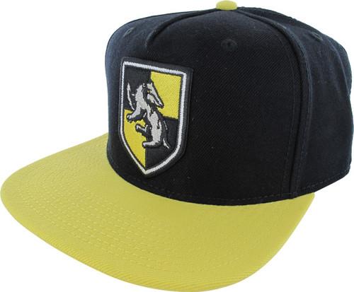 Harry Potter Hufflepuff Shield Snapback Hat
