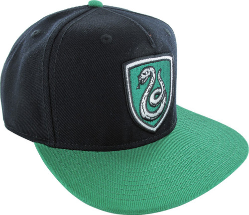 Harry Potter Slytherin Patch Snapback Hat
