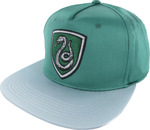 Harry Potter Slytherin Satin Snapback Hat