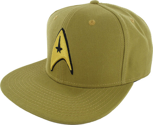 Star Trek Embroidered Command Logo Snapback Hat