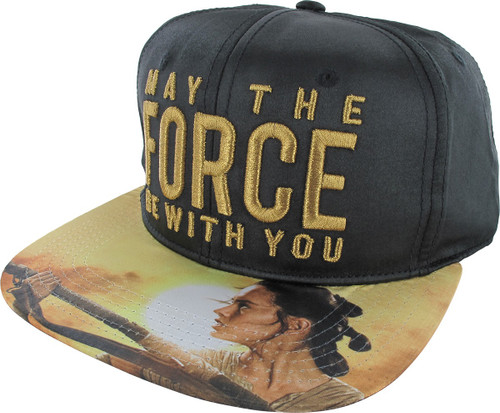 Star Wars May The Force Sublimated Snapback Hat