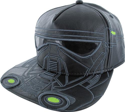 Star Wars Death Trooper Faux Leather Snapback Hat