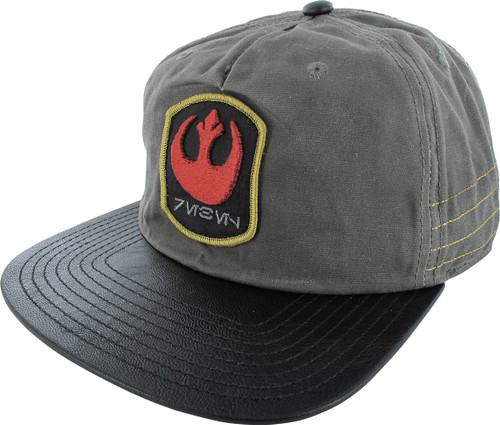 Star Wars Rogue One Rebel Slouch Snapback Hat