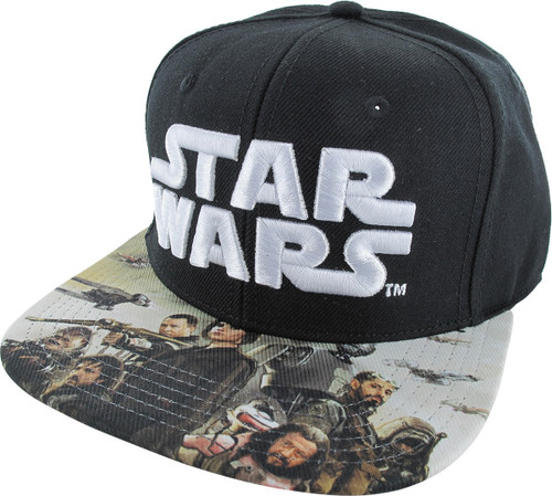 Star Wars Rogue One Sublimated Snapback Hat