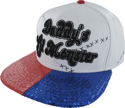 Suicide Squad Daddys Lil Monster Snapback Hat