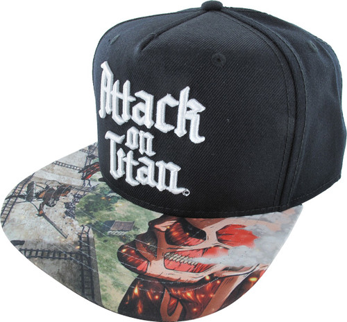 Attack on Titan Sublimated Visor Hat