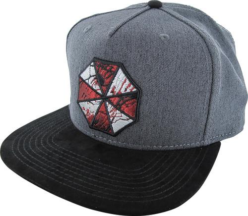Resident Evil Shattered Umbrella Logo Snapback Hat