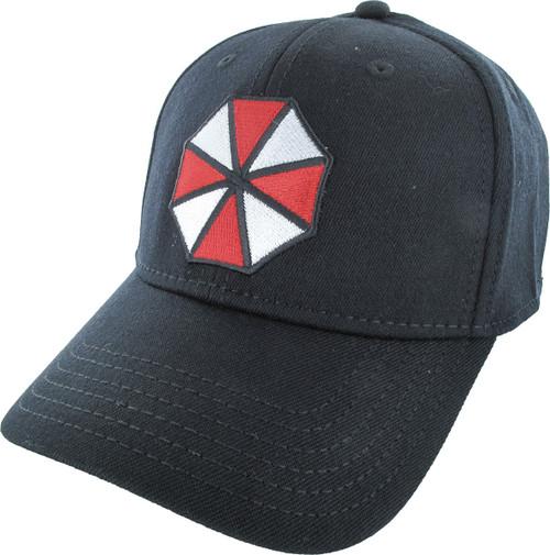 7fb5c5f7152a5 Resident Evil Umbrella Logo Flex Hat