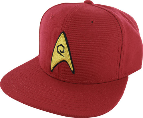 Star Trek Embroidered Engineer Logo Snapback Hat