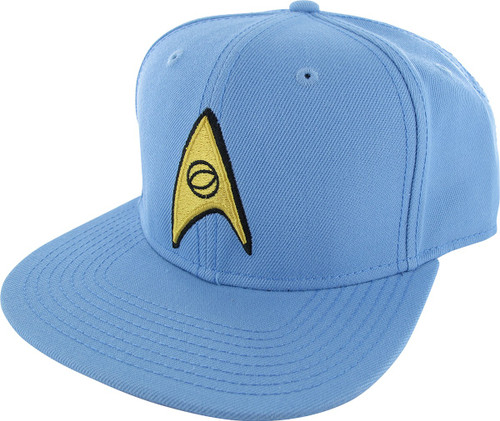 Star Trek Embroidered Science Logo Snapback Hat