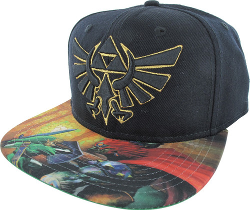 2b338d4e Zelda Logo Sublimated Snapback Hat