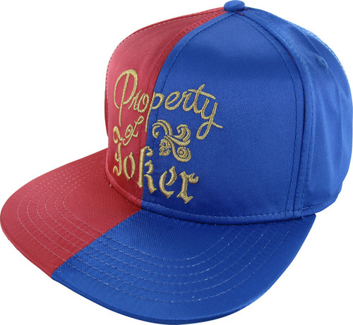 Suicide Squad Property of Joker Snapback Hat