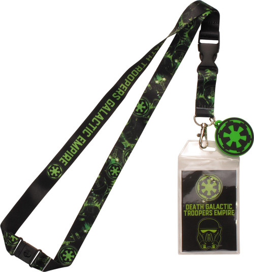Star Wars Troopers Empire Imperial Charm Lanyard