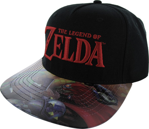 7a6e7961 Zelda Fight Sublimated PVC Visor Velcro Hat
