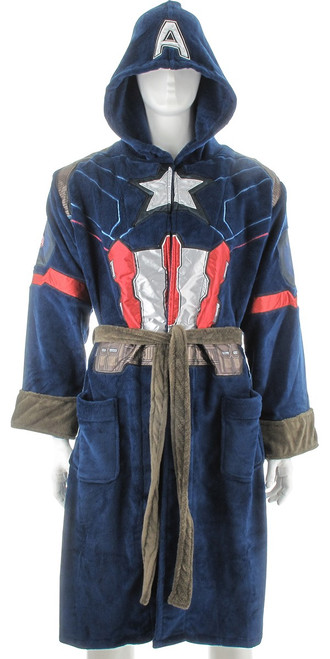 Captain America Civil War Armor Fleece Robe