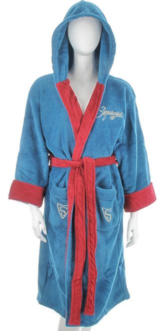 Supergirl Bombshell Ladies Fleece Robe