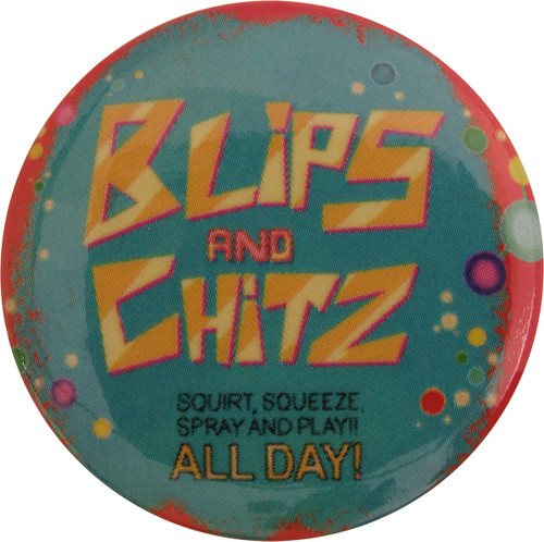 Rick and Morty Blips and Chitz Button