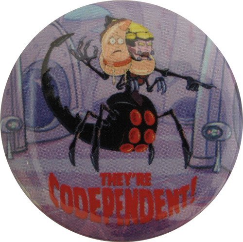Rick and Morty Codependent Button