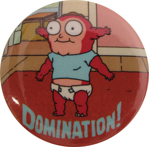 Rick and Morty Domination Button