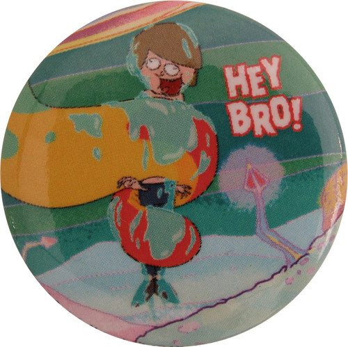 Rick and Morty Hey Bro Button