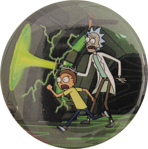 Rick and Morty Hurry Make Portal Button