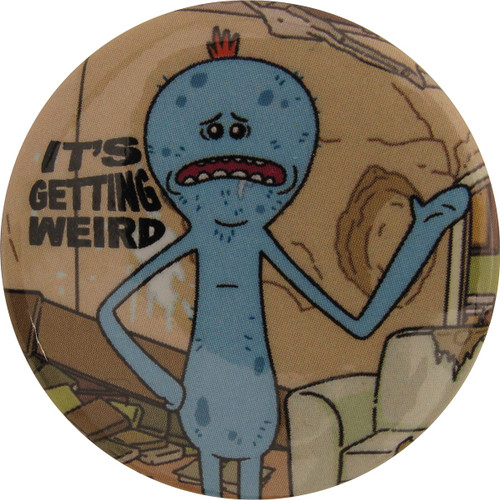 Rick and Morty Meeseeks Its Getting Weird Button