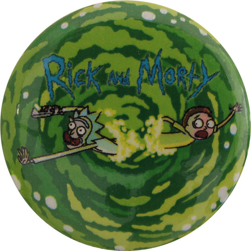 Rick and Morty Portal Jump Button