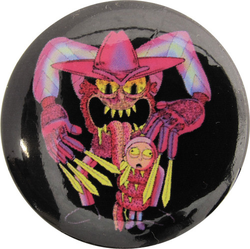 Rick and Morty Scary Terry Button