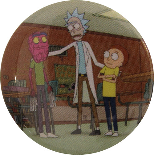 Rick and Morty Scary Terry Group Button