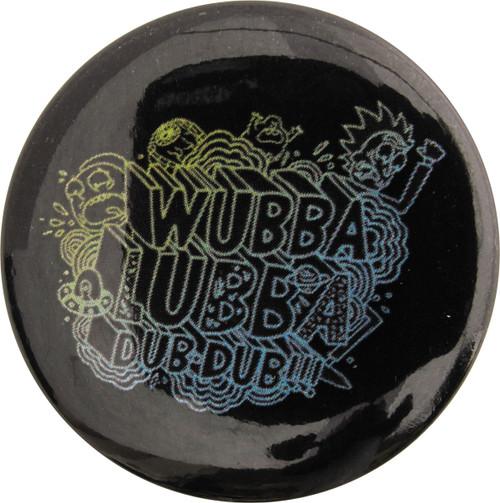 Rick and Morty Wubba Lubba Dub Dub Button