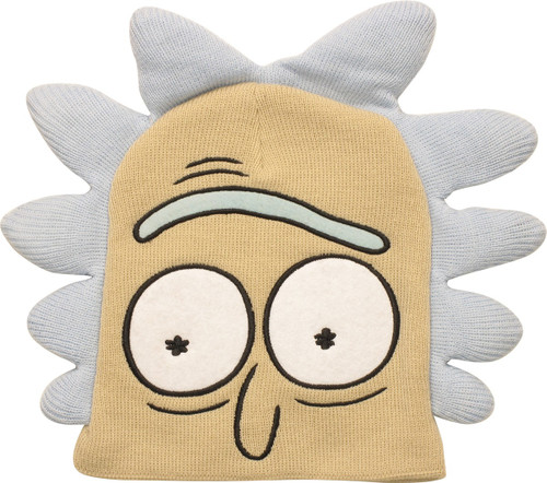 Rick and Morty Rick Face Beanie