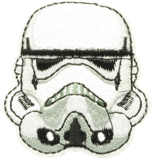 Star Wars Stormtrooper Helmet Patch