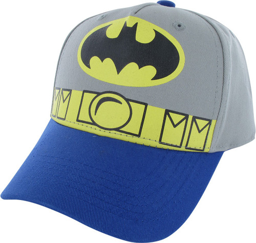 Batman Logo and Belt Snapback Youth Hat