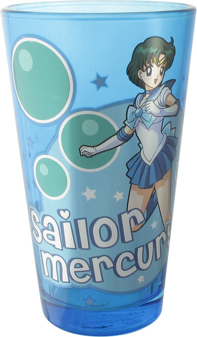 Sailor Moon Sailor Mercury Pint Glass