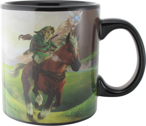 Zelda Ocarina of Time Jumbo Mug