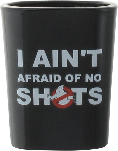 Ghostbusters Aint Afraid of No Shots Shot Glass