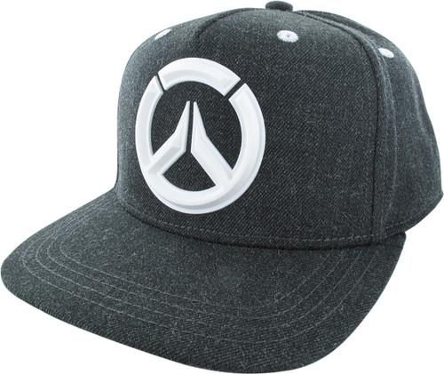 Overwatch PVC Logo Snapback Hat