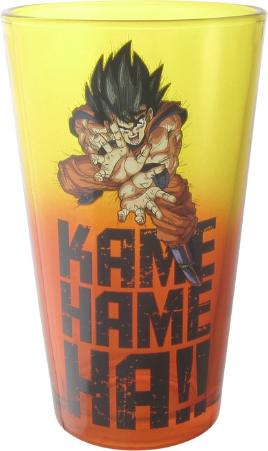 Dragon Ball Z Kamehameha Pint Glass